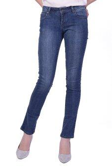 Mc Lady Slim Fit Jeans กางเกงยีนส์ขายาว ทรงขาเดฟ รุ่น LADP32400