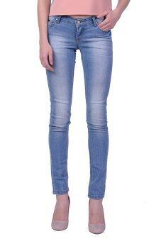 Mc Lady Slim Fit Jeans กางเกงยีนส์ขายาว ทรงขาเดฟ เอวกลาง รุ่น LADP42300