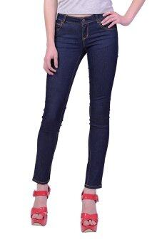 Mc Lady Slim Fit Jeans กางเกงยีนส์ขายาว ทรงขาเดฟ เอวกลาง รุ่น LADP43500