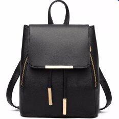 meet RockLife Women Backpack กระเป๋าสะพาย กระเป๋าเป้สะพายหลัง - Black