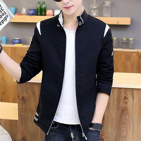 ราคาพิเศษ Men Concept เสื้อคลุม แจ็คเก็ต แฟชั่น สำหรับผู้ชาย รุ่น M101 สีดำ สำหรับคุณ