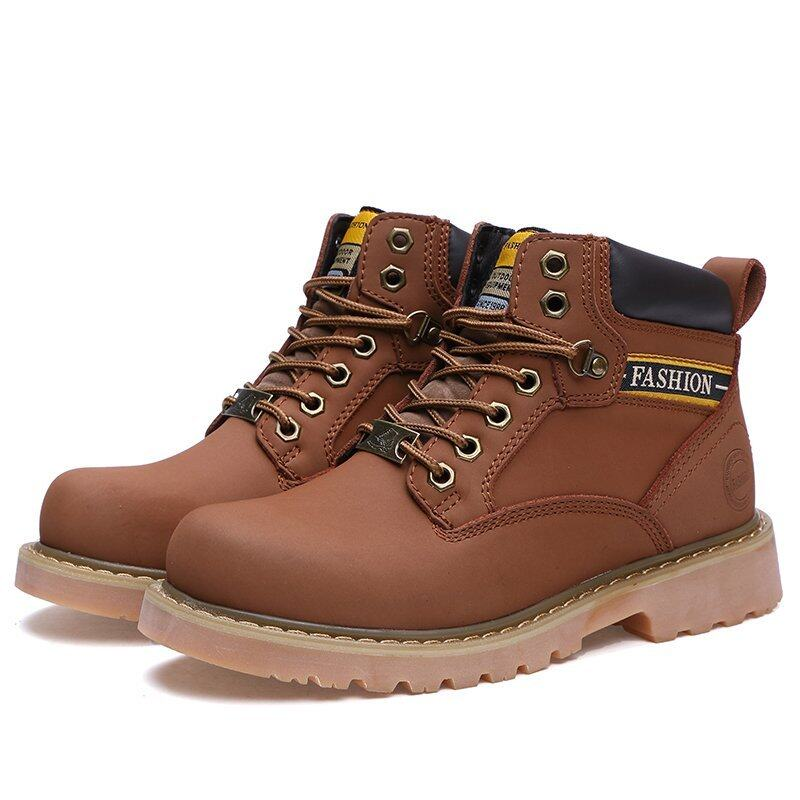 Men fashion boots winter shoes snow boots - intl ...