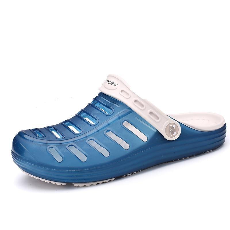 Men Fashion Slippers Sandals for Men Breathable Beach Sandals - intl ...