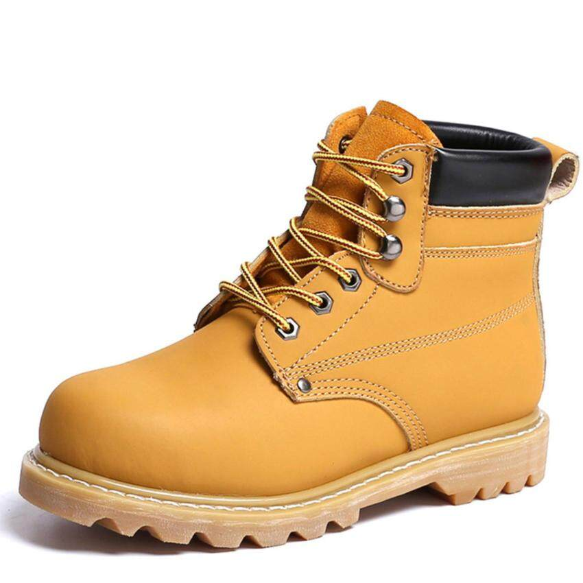 men work safety shoes ankle high boots shoes size 37-45 - intl ...
