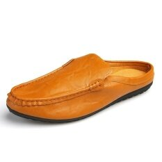 Mens New Fashion Breathable Leisure Comfortable Peas Shoes - Intl ราคา 699 บาท(-45%)