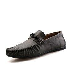 Mens New Fashion Breathable Leisure Comfortable Peas Shoes - Intl ราคา 782 บาท(-46%)