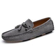 Mens New Fashion Breathable Leisure Comfortable Peas Shoes - Intl ราคา 897 บาท(-47%)