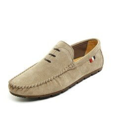 Mens New Fashion Breathable Leisure Comfortable Peas Shoes - Intl ราคา 831 บาท(-46%)