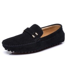 Mens New Fashion Breathable Leisure Comfortable Peas Shoes - Intl ราคา 1,103 บาท(-47%)