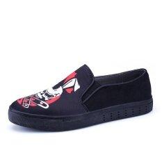 Mens New Fashion Breathable Leisure Comfortable Peas Shoes - Intl ราคา 806 บาท(-46%)