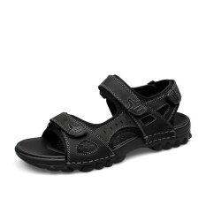 Mens Non-Slip Comfortable Wear-Resistant Trend Daily Leisure Personality Sandals - Intl ราคา 955 บาท(-50%)