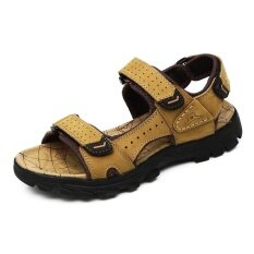 Mens Non-Slip Comfortable Wear-Resistant Trend Daily Leisure Personality Sandals - Intl ราคา 955 บาท(-53%)