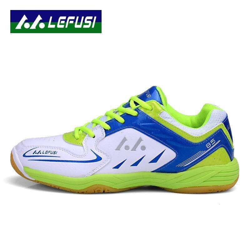 Men's Wear-Resisting Badminton Training Shoes Anti-Slippery Damping Lace-Up Outdoor Badminton Shoes - intl