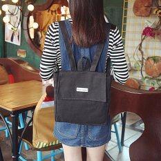 MK BraBra กระเป๋าเป้ผ้า style Korea (สีดำ)