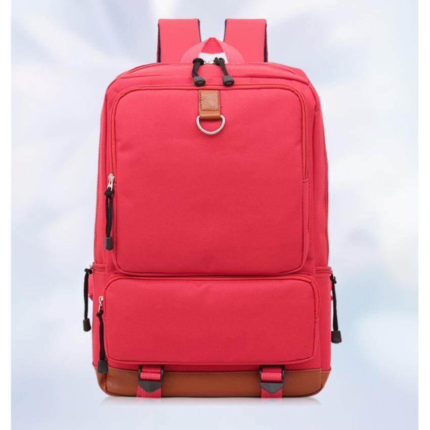 MWshop กระเป๋า notebook กระเป๋าทรงสี่เหลี่ยมใส่โน๊ตบุค สีแดง