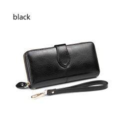 Nadou Store กระเป๋าสตางค์หนังงูยาวสไตล์ยุโรปกระเป๋าสตางค์น้ำมันสุภาพสตรี ราคา 337 บาท(-40%)