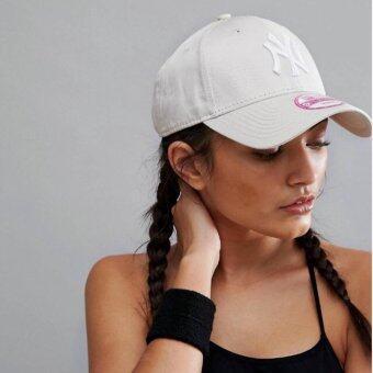 หมวก NEW ERA 9Forty Cap NY สีครีม