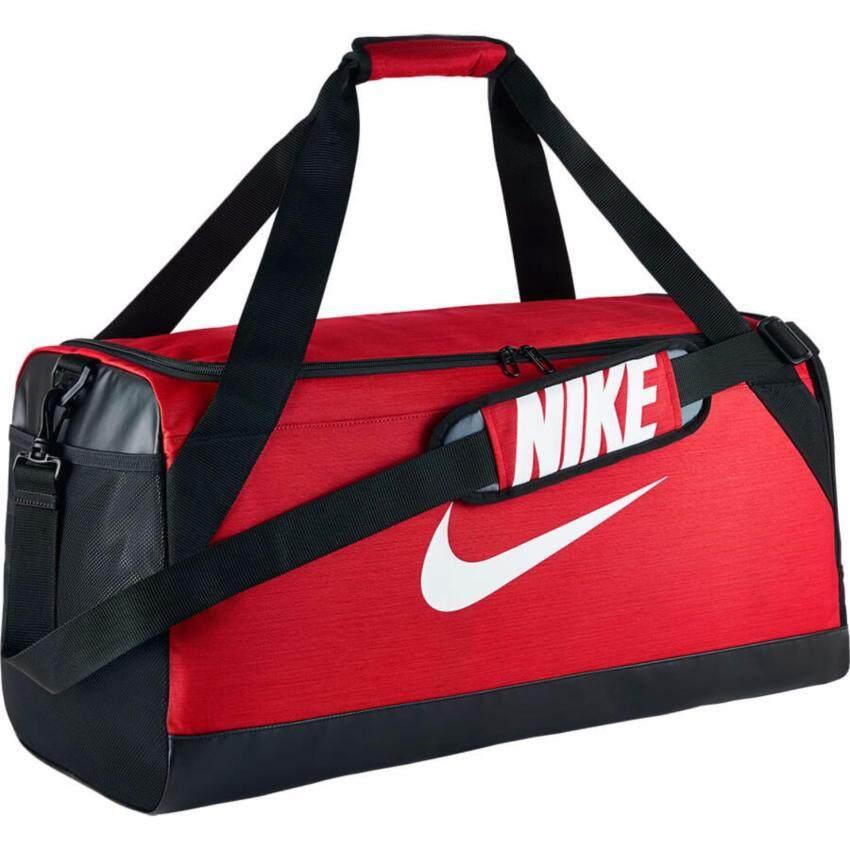 NIKE กระเป๋าสะพาย รุ่น BRSLA M DUFF - BA5334657-MISC (RED/BLACK)