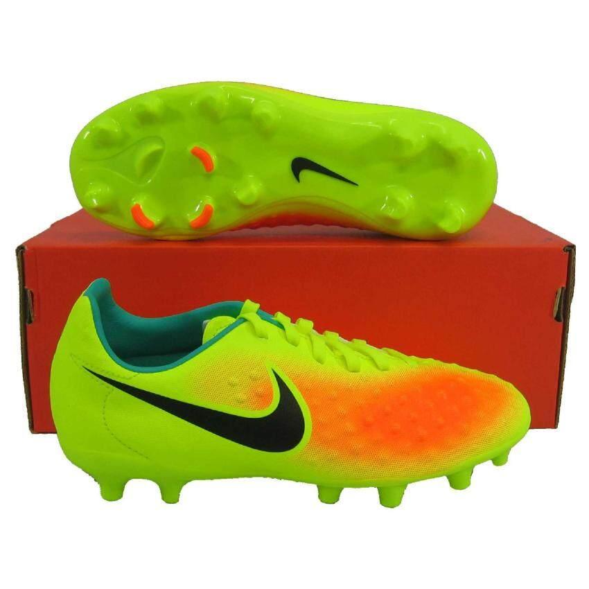 สุดยอด Nike รองเท้ากีฬา รองเท้าสตั๊ดเด็ก NIKE 844415-708 MAGISTAX OPUS IIFG เหลืองดำ เบอร์ 1Y(Int: One size) ซื้อเลย