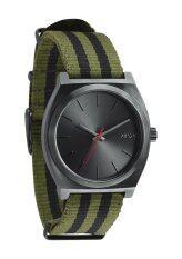 Nixon Time Teller Surplus/Black Nylon Watch A045-1151