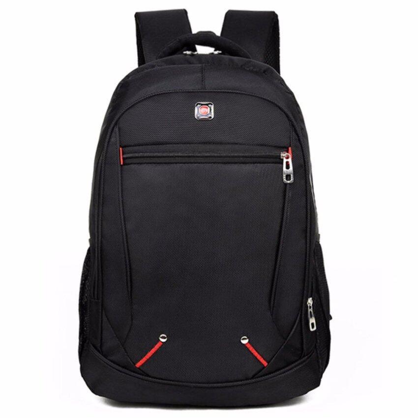 Otzi กระเป๋าเป้สะพายหลัง แบ็คแพ็ค เดินทางท่องเทียว กันน้ำ สีดำ