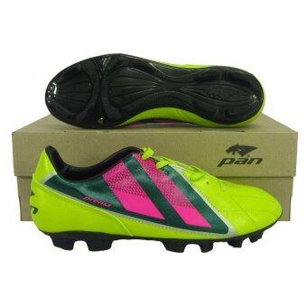 รองเท้ากีฬา รองเท้าสตั๊ด PAN 15D6 PREMA เขียวชมพู