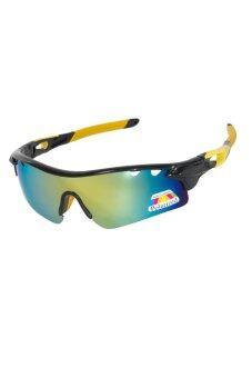 Polarized แว่นตากันแดด รุ่น PL01 - Polarized Yellow