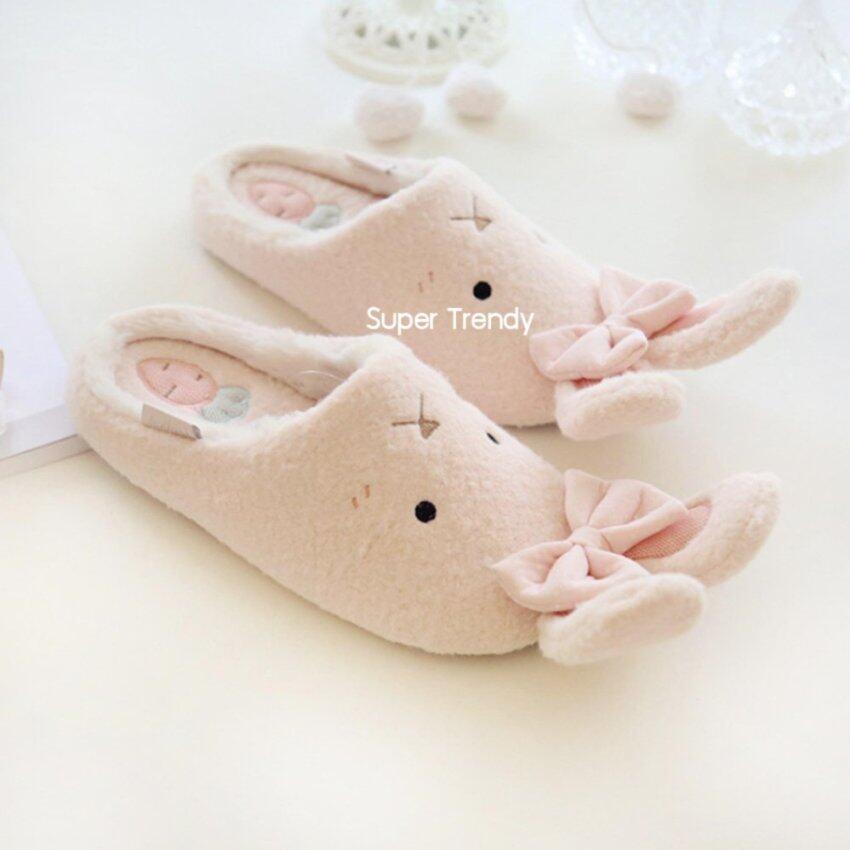 รองเท้าใส่ในบ้าน กระต่าย (สีชมพู) ...