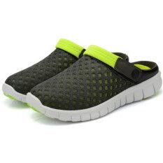 หญ้าคาหายใจหายคอรองเท้าแตะสีเขียว ราคา 404 บาท(-72%)