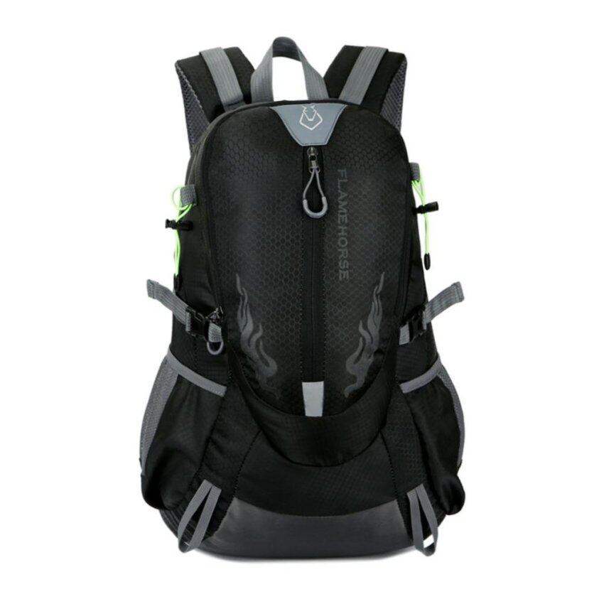 Fashion Waterproof Outdoor Sports Shoulder Bag Travel Backpack (Green)
