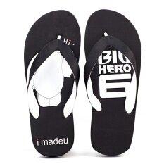 ผู้ชายฤดูร้อนลื่นรองเท้าแตะรองเท้าแตะ (ขนาดใหญ่สีขาวสีดำ) ราคา 388 บาท(-27%)