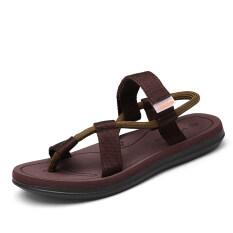 ในช่วงฤดูร้อนของผู้ชายกึ่งรถพ่วงรองเท้า (สีน้ำตาล) ราคา 505 บาท(-36%)