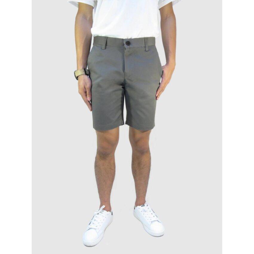 กางเกงขาสั้นชาย กางเกงชิโน่ ( สีเทาเข้ม )