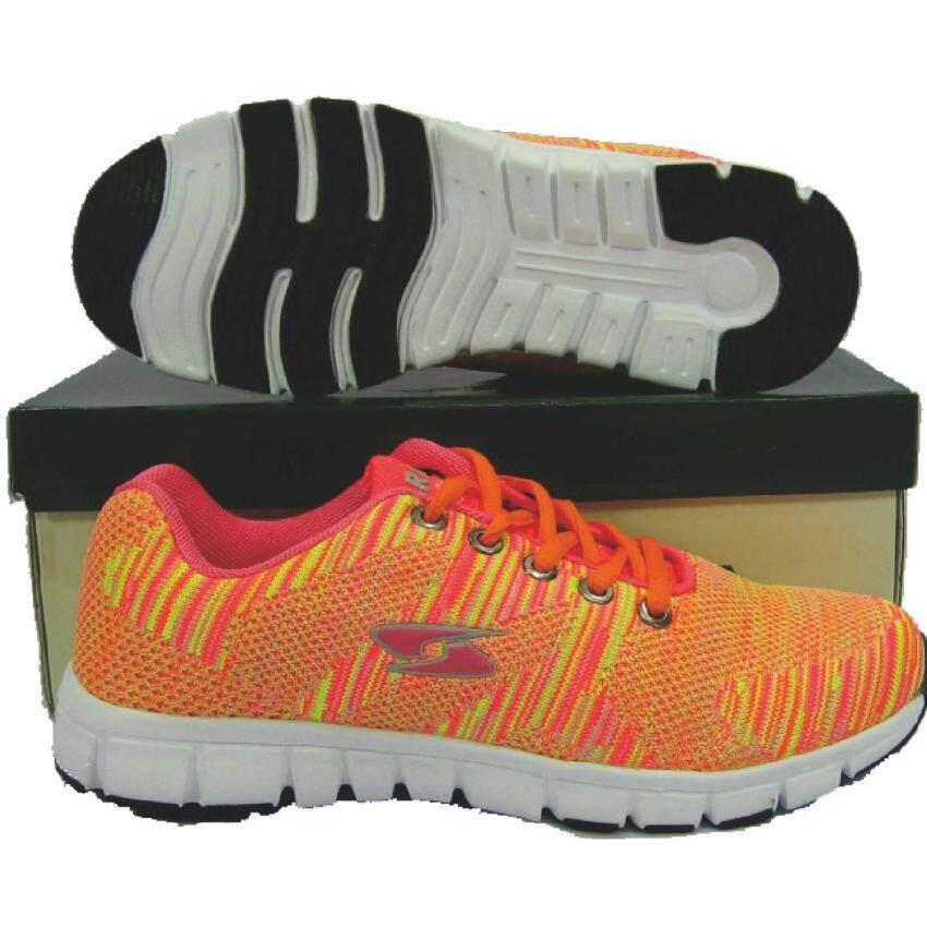 รองเท้าวิ่ง รองเท้าจ๊อกกิ้ง HARA JB-02 ส้ม