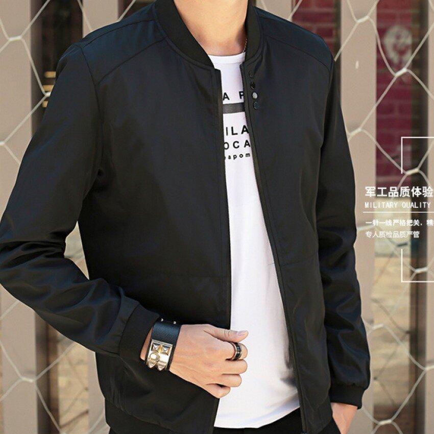 ราคาพิเศษ ร้านเสื้อแจ็กเก็ตกีฬาเบสบอลชายสวมเครื่องแบบสีดำ สำหรับคุณ