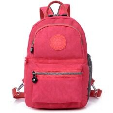 RICHCOCO กระเป๋าเป้สะพายหลัง Nylon leisure Backpack (Peach)
