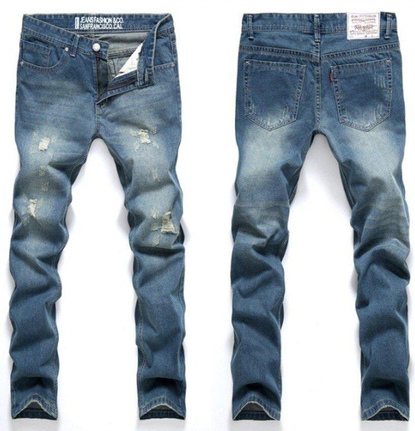 กางเกงยีนส์บุรุษลึงค์ Robin กางเกงยีนส์กางเกงขายาวกางเกงยีนส์ผู้ชายกางเกงยีนส์ผู้ชายขาดรู ...