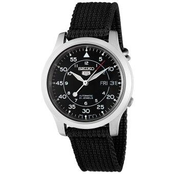 Seiko 5 Military Automatic Men's Watch รุ่น SNK809K2 - Black image