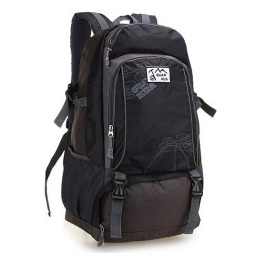 Siamcity mall กระเป๋าเป้ กระเป๋าสะพายหลัง กระเป๋าเป้สะพายหลัง กระเป๋าเดินทาง ผ้า ไนล่อน สำหรับ เดินทาง ทำงาน สีดำ
