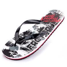 Sin รองเท้าแตะลื่นในช่วงฤดูร้อนรองเท้าแตะชาย Flip Flops (สีดำ) ราคา 438 บาท(-35%)