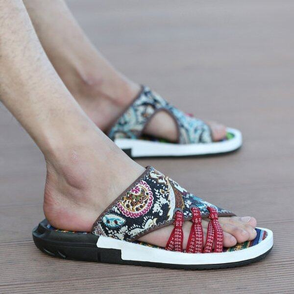 Summer Slippers Men Sandals Slippers - intl ...