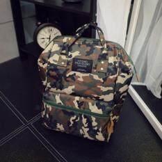 Sun กระเป๋า กระเป๋าเป้ กระเป๋าสะพายหลัง Backpack No.2017 - Army Green