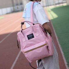 Sun กระเป๋า กระเป๋าเป้ กระเป๋าสะพายหลัง Backpack No.2017 - Pink