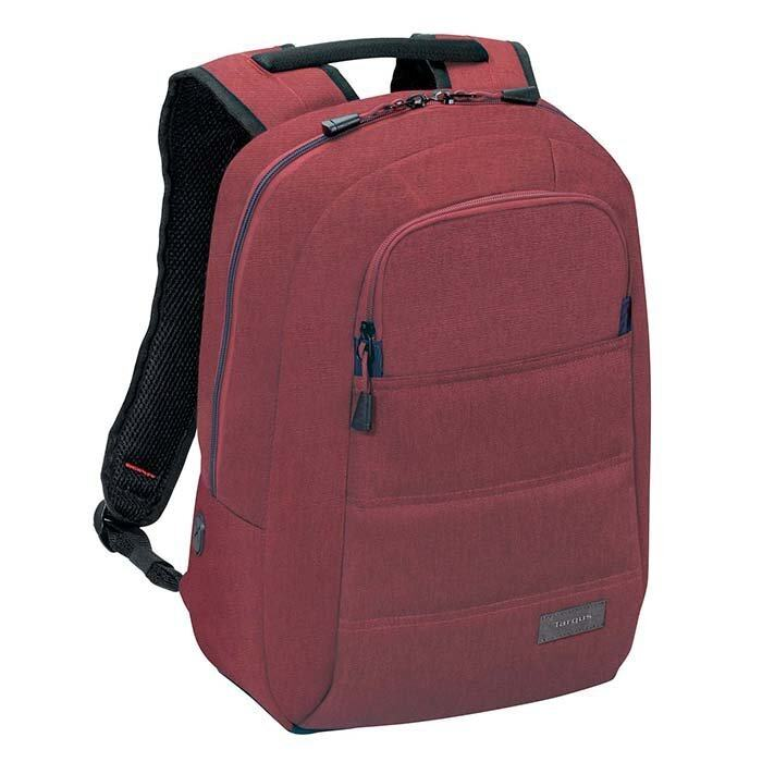 TARGUS New Groove X 15 inch Laptop Backpack - BURGUNDY กระเป๋าโนตบุค/Macbook