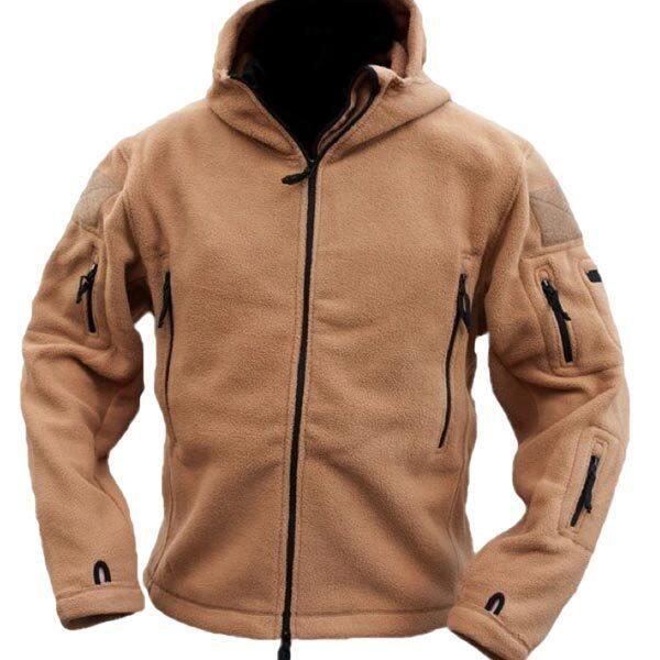Teamtop PODOM Men Winter Fleece Hooded Outdoor Jacket Thicken Coats - Intl - Intl ...