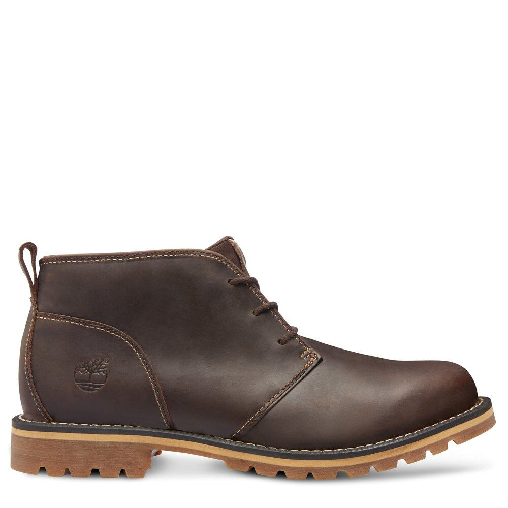 timberland grantly chukka boots dark brown