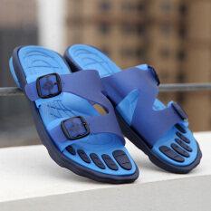 ในร่มแนวโน้ม Torr ลื่นรองเท้าแตะรองเท้าแตะ (สีฟ้า) ราคา 388 บาท(-80%)
