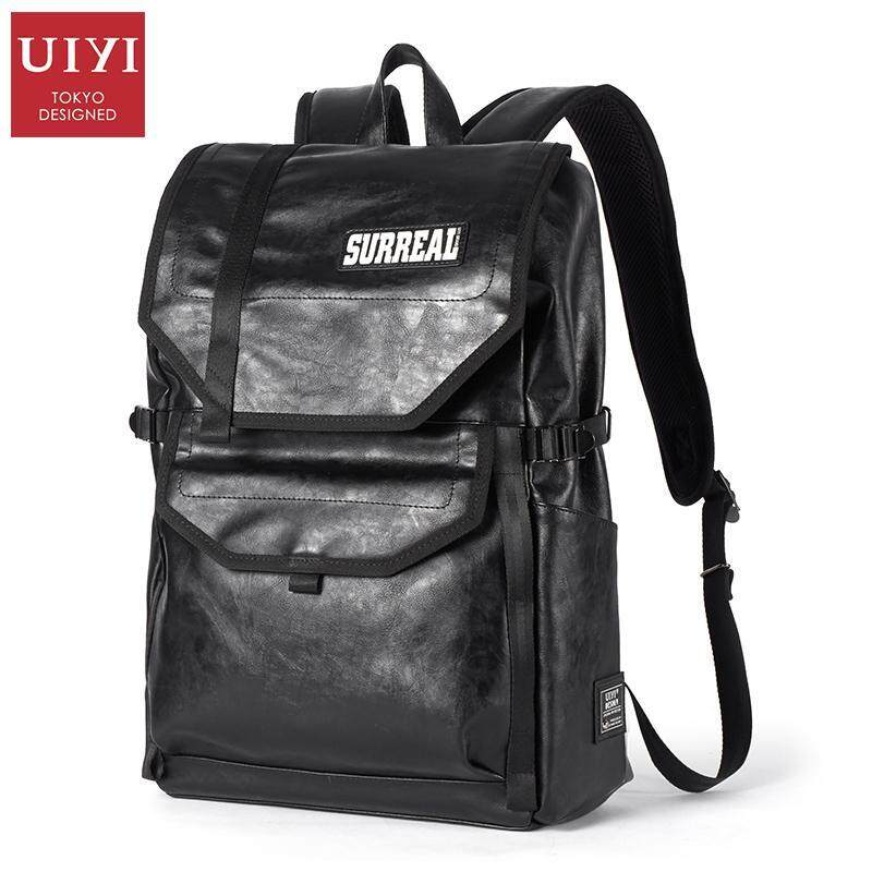 UIYI PU Men Backpack Original Design Men Backpack Bag Brand High Quality Mochila Back Pa ...
