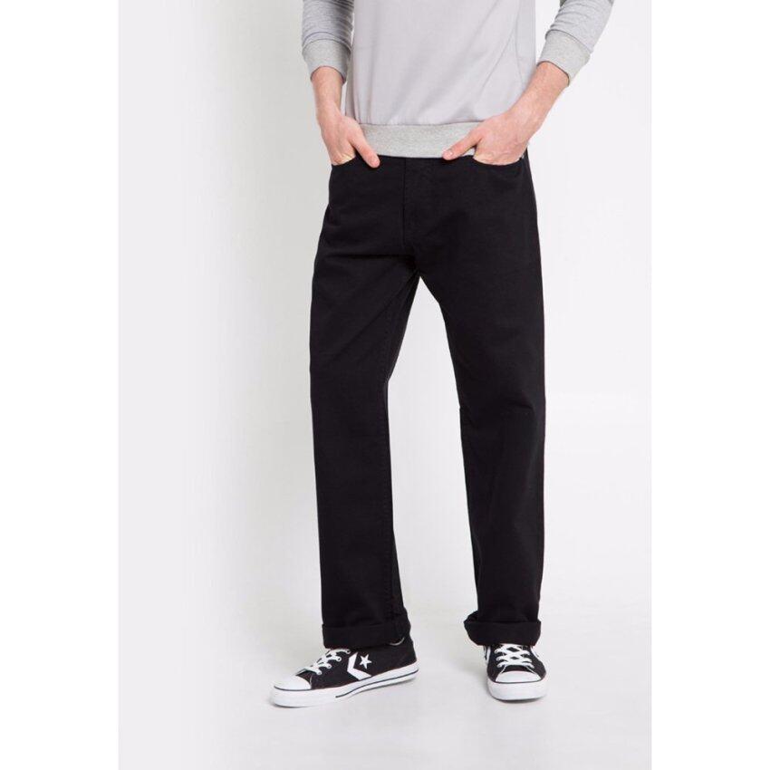 VELONI - กางเกงยีนส์ผู้ชาย - 2744 Black ...