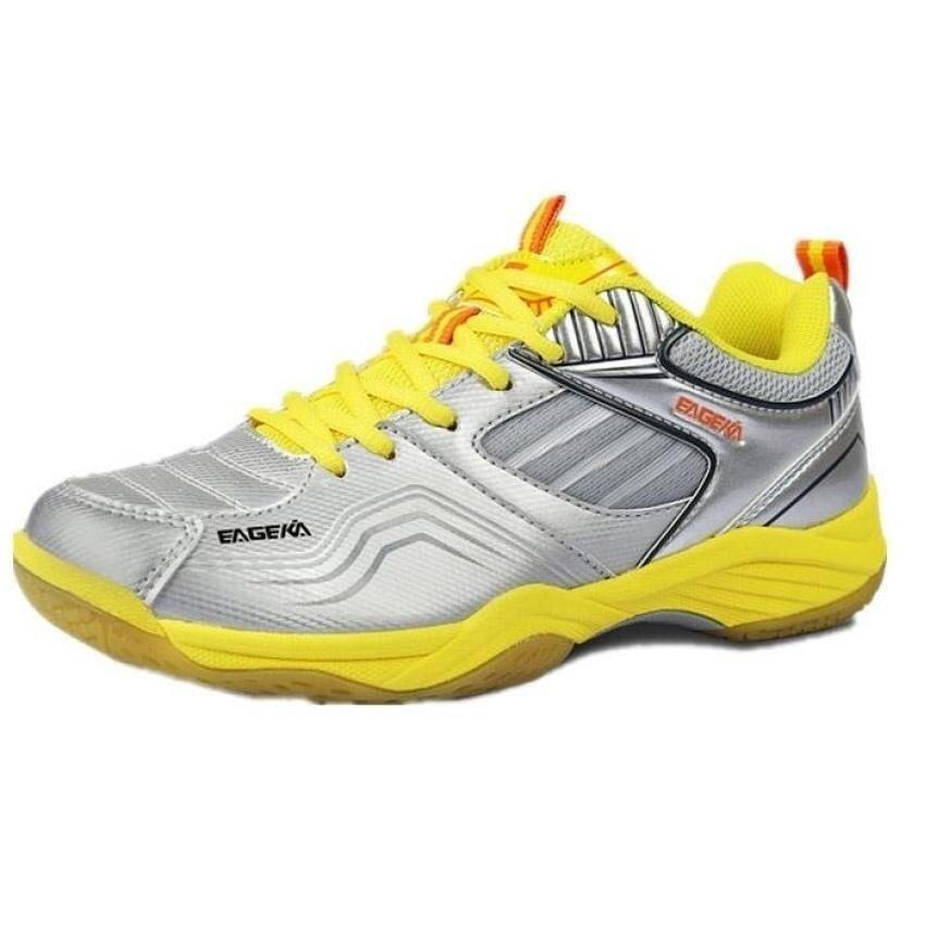 ขาย VOYAGE Men and Women's Professional Badminton Shoes Couple's FashionSneakers Size 35-45  - intl
